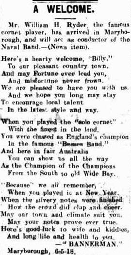 19180508_Maryborough-Chronicle_William-Ryder