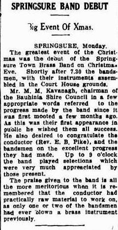 19340103_Evening-News_Springsure-BB-Debut