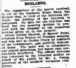 19190214_Newcastle-Herald_Boolaroo-BB-Function